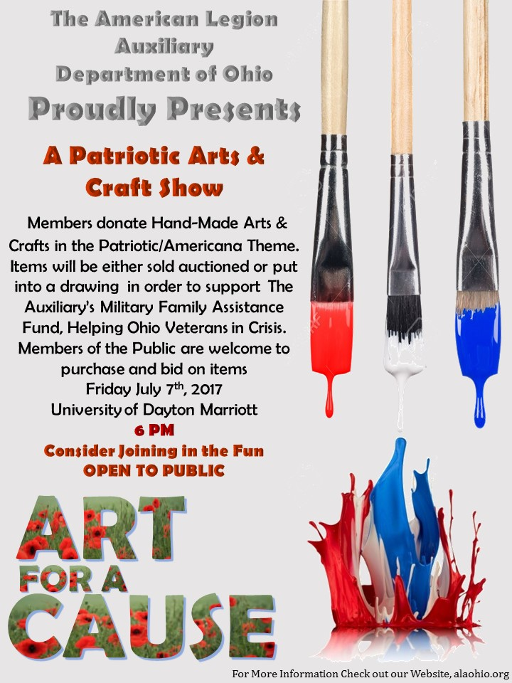 Department convention the american legion department of ohio for Art and craft shows in ohio